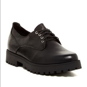 Steve Madden Dewwars leather Oxford loafers 9